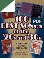 20's & 30's (full book)