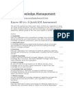 Knowledge Management Skyrme