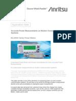 AppNote - Accurate Power Meter Measurements