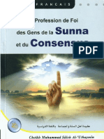 La Profession de Foi Des Gens de La Souna Et Du Consensus
