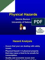 Identifying Hazards Physical Hazards July 2003