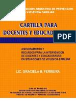 Cartilla para Docentes y Educadoras-es - Asociación Argentina de Prevención de la Violencia Familiar