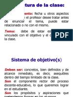 ESTRUCTURA METODOLÓGICA DE UNA CLASE 11