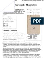 L'Etica Protestante e Lo Spirito Del Capitalismo - Wikipedia