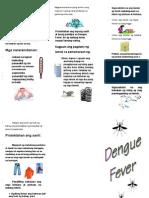 Dengue Leaflet Tagalog