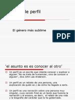 Características del pefil