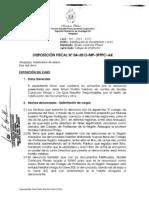 Dispocicion Fiscal Arequipa.