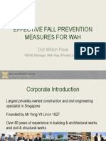 Effective Fall Prevention Measures for Working at Height