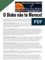 O DIABO NÃO TE MERECE!