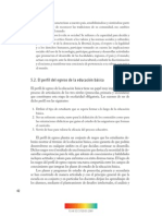 perfil de egreso educación básica