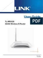 TL-MR3220 v2 User Guide