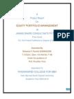 Equity Portfolio Management