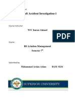 Essential Steps of  air accident investigation and Impediments to investigation