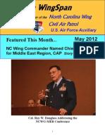 North Carolina Wing - May 2012