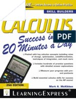CalculusSuccessin20MinutesaDay2ndEdition