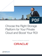 Choose the Right Storage Platform for Your Private Cloud