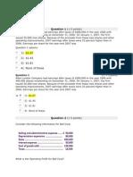 Financial Management Week 1 Homework