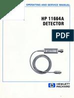 HP 11664A Manual