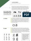 Apuntes Elección Tipográfica