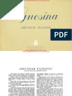 Abecedar pianistic - Gnesiana