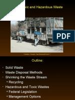 toxics, hazardous waste