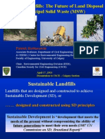 sustainable landfills