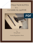 Construction Notes for a Classical Guitar - sample