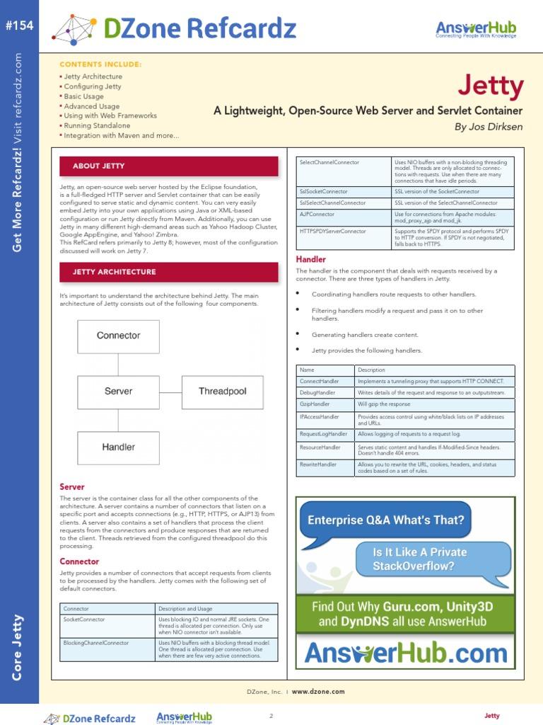 Rc154U 010d Jetty   Web Application   Java Servlet