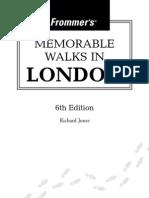 Frommer's Memorable Walks in London_0471773387