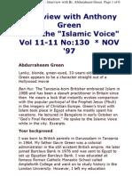 Great Islam in Great Britain - Abdurraheem Green