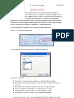 Validación Excel