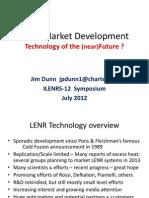 Final Lenr Market Development Ilents12 Ppt03 By Jim Dunn
