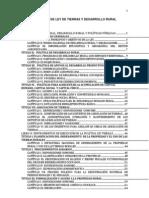 Proyecto Ley de Tierras y Desarrollo Rural-Gobierno-16!04!12