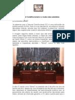 O Tribunal Constitucional e o roubo dos subsídios