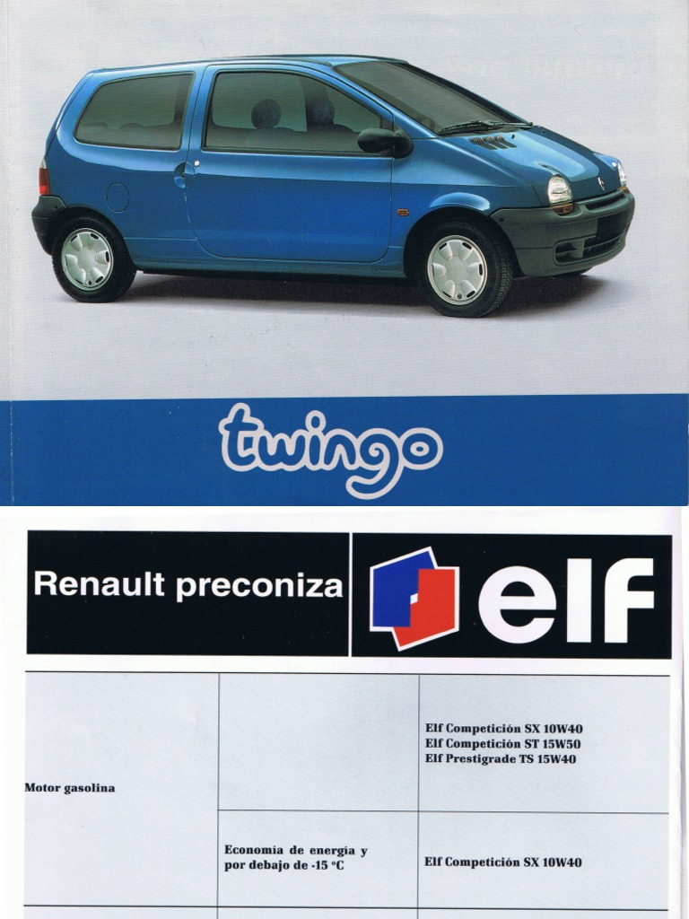 manual renault twingo pdf