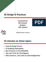 2008CON 3D Design Practices Samuels