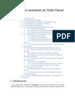 Cadenas de Caracteres en Turbo Pascal