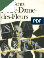 97451691 Jean Genet Notre Dame Des Fleurs 1948