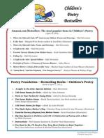 poetry bestsellers final 2012
