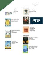 poetry booklist