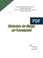 Metodos de Riego en Venezuela