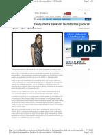 Carolina Deik INOCENTE El Verdadero Rol de La Barranquillera Deik en La Reforma Judicial - El Heraldo