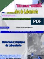 Laboratorio Quimica Materiales de Laboratorio Integral 2012