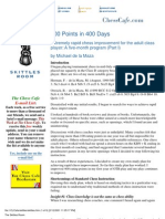 400 Points in 400 Days (1) - Michael de La Maza