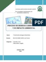 Proceso de Bebidas Carbonatadas y su Impacto Ambiental