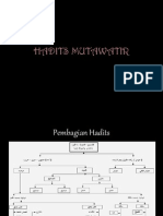 Hadits Mutawatir