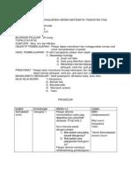 Rancangan Pengajaran Harian Matematik Tingkatan Tiga