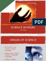 Science in Vedas