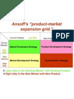 Asnof Product Market Grid