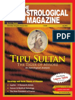 Tippu Sultan Cover Story in AM_July 2012 Full